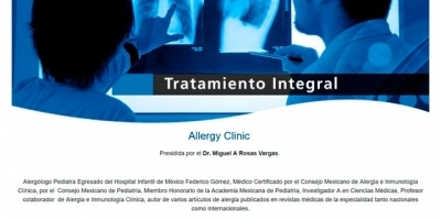 Diseño Web - Allergy Clinic